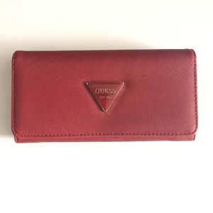 Red Guess Wallet